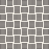 Vector seamless pattern. Modern texture. Repeating abstract background. Geometric rectangles symmetric lattice