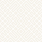 Geometric Ethnic Lattice. Stylish Subtle Texture. Vector Abstract Seamless Pattern.