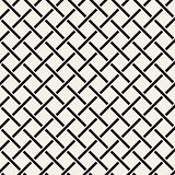 Seamless woven stripes lattice pattern. Modern stylish texture. Repeating abstract background with interlacing lines. Simple grid