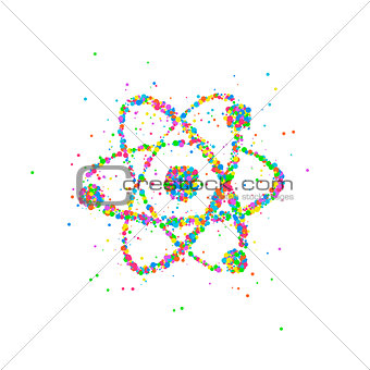 Abstract nucleus of an atom