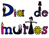 day of the dead letters 2