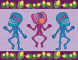 mexican skull 3