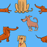 cartoon wallpaper with dogs