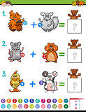 addition educational maths activity for kids