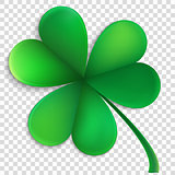 Saint Patricks day happy clover. EPS 10 vector