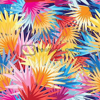 Bright multicolored abstract pattern