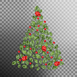 Christmas tree concept. EPS 10 vector