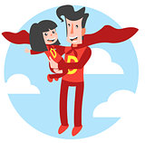 Super Dad and Super Daughter