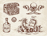 Pirates design elements