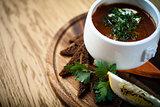 Saltwort beef soup