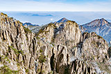 Peaks of Huangshan National park.
