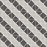Vector seamless trendy pattern. Modern stylish repeating texture. Repeating geometric lattice