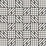 Vector seamless trendy pattern. Modern stylish repeating texture. Repeating geometric lattice