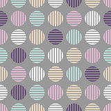 Seamless cloth pattern. Halftone soft colors design.