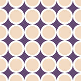 Decorative geometric pattern. Seamless delicate background.