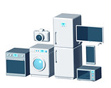 Internet of things appliances 3d