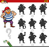 shadow game activity with pirate