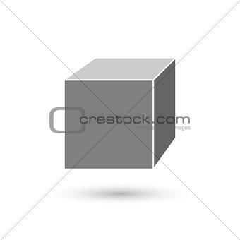 Cube icon concept