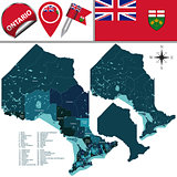 Divisions of Ontario, Canada