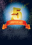 Fifth anniversary