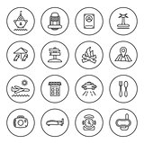 Outline Travel icon set