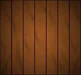 Wooden background. Wood texture, EPS 10 vector.