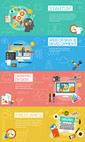 Creative Process Concept Illustrations