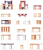 Vector table set