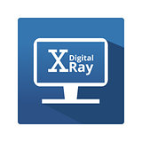 Digital radiography icon