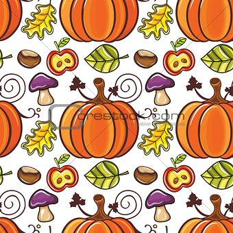 Autumn seamless pattern series