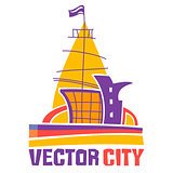 Vector city icon