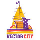 Vector city icon
