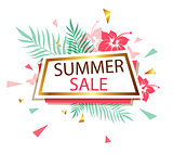 Banner for summer sale