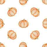 Pattern with pumpkin
