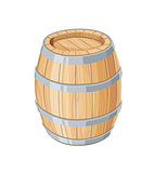 Vertical Wooden barrel for wine or beer