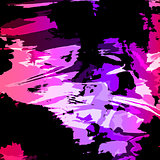 Abstract vector background in bright colors