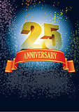 Twenty-fifth anniversary