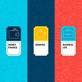 Line Finance Patterns Set
