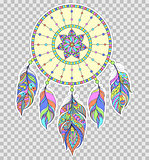 dreamcatcher on transparent background