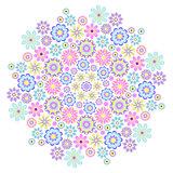 pastel big flower