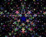 Stars of different colors