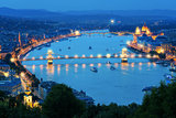 The Beautiful Capital City of Budapest in Hungary