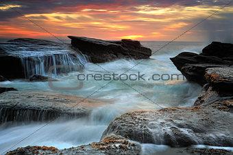 Waves through the Culburra Channel