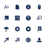 Simple set icon for app, programs and sites.