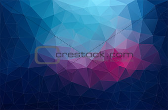 Abstract retro colorTriangle Background
