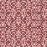 Seamless Damask Pattern Background