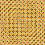 Orange Abstract Sameless Pattern