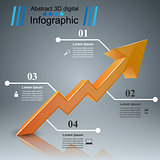 Infographic icons. Arrows icon.
