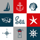 Nautical themed design