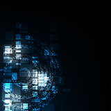 Vector abstract background technology concept.